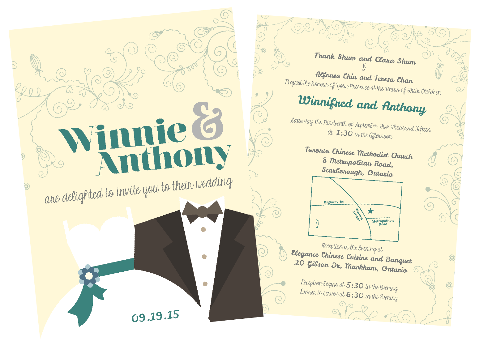 Wedding card layout design adrian cheung wedding card layout design stopboris Choice Image